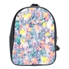 Softly Floral C School Bags(Large)