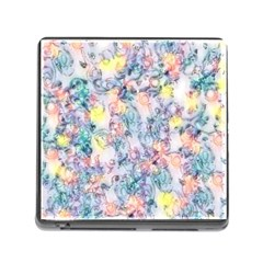 Softly Floral C Memory Card Reader (Square)