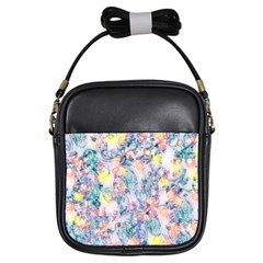 Softly Floral C Girls Sling Bags