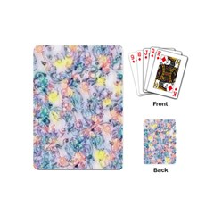 Softly Floral C Playing Cards (Mini)