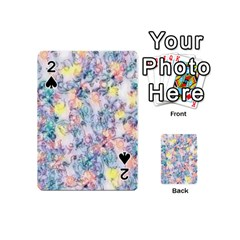 Softly Floral C Playing Cards 54 (Mini)