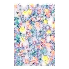 Softly Floral C Shower Curtain 48  x 72  (Small)