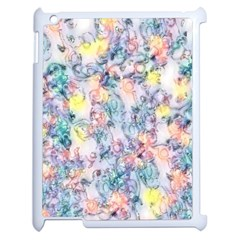 Softly Floral C Apple iPad 2 Case (White)