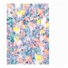 Softly Floral C Small Garden Flag (Two Sides)