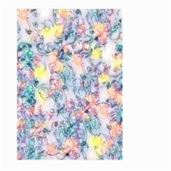Softly Floral C Large Garden Flag (Two Sides)