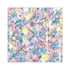Softly Floral C Acrylic Tangram Puzzle (6  x 6 )