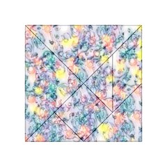 Softly Floral C Acrylic Tangram Puzzle (4  x 4 )