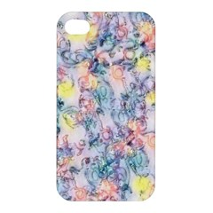 Softly Floral C Apple iPhone 4/4S Premium Hardshell Case