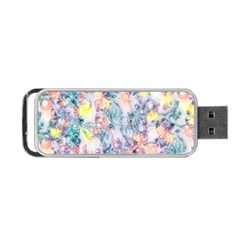 Softly Floral C Portable USB Flash (One Side)