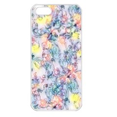 Softly Floral C Apple iPhone 5 Seamless Case (White)