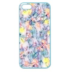 Softly Floral C Apple Seamless iPhone 5 Case (Color)