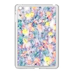 Softly Floral C Apple iPad Mini Case (White)