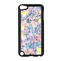 Softly Floral C Apple iPod Touch 5 Case (Black)