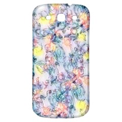 Softly Floral C Samsung Galaxy S3 S III Classic Hardshell Back Case