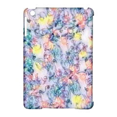Softly Floral C Apple iPad Mini Hardshell Case (Compatible with Smart Cover)