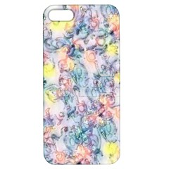 Softly Floral C Apple iPhone 5 Hardshell Case with Stand