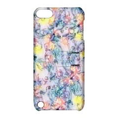 Softly Floral C Apple iPod Touch 5 Hardshell Case with Stand