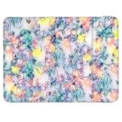 Softly Floral C Samsung Galaxy Tab 7  P1000 Flip Case