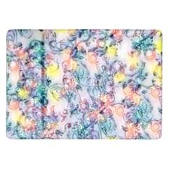 Softly Floral C Samsung Galaxy Tab 10.1  P7500 Flip Case