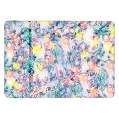 Softly Floral C Samsung Galaxy Tab 8.9  P7300 Flip Case