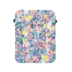 Softly Floral C Apple iPad 2/3/4 Protective Soft Cases