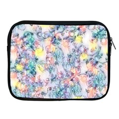 Softly Floral C Apple iPad 2/3/4 Zipper Cases