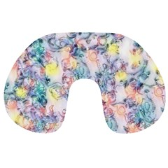 Softly Floral C Travel Neck Pillows