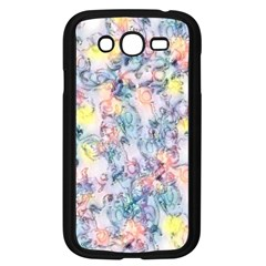 Softly Floral C Samsung Galaxy Grand DUOS I9082 Case (Black)
