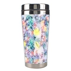 Softly Floral C Stainless Steel Travel Tumblers