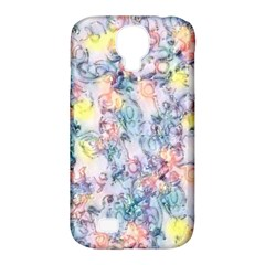 Softly Floral C Samsung Galaxy S4 Classic Hardshell Case (PC+Silicone)