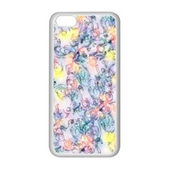 Softly Floral C Apple iPhone 5C Seamless Case (White)