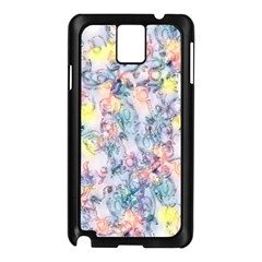 Softly Floral C Samsung Galaxy Note 3 N9005 Case (Black)
