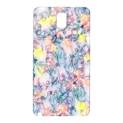 Softly Floral C Samsung Galaxy Note 3 N9005 Hardshell Back Case