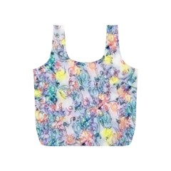 Softly Floral C Full Print Recycle Bags (S)