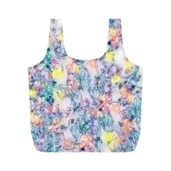 Softly Floral C Full Print Recycle Bags (M)