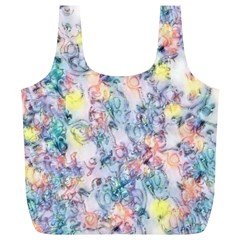 Softly Floral C Full Print Recycle Bags (L)