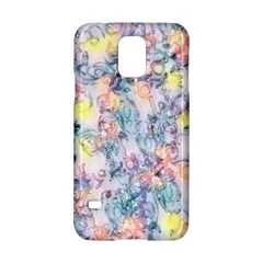Softly Floral C Samsung Galaxy S5 Hardshell Case