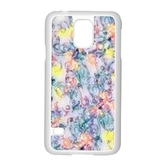 Softly Floral C Samsung Galaxy S5 Case (White)