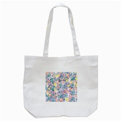 Softly Floral C Tote Bag (White)
