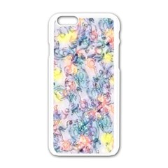 Softly Floral C Apple iPhone 6/6S White Enamel Case