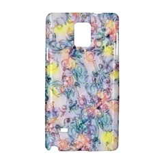 Softly Floral C Samsung Galaxy Note 4 Hardshell Case
