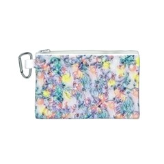 Softly Floral C Canvas Cosmetic Bag (S)