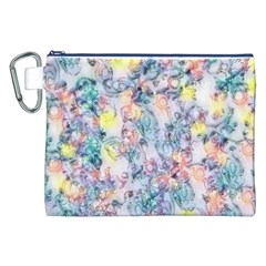 Softly Floral C Canvas Cosmetic Bag (XXL)
