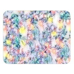 Softly Floral C Double Sided Flano Blanket (Large)