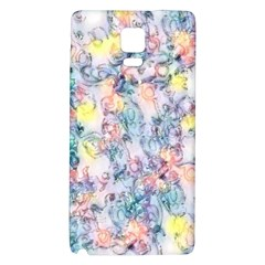 Softly Floral C Galaxy Note 4 Back Case