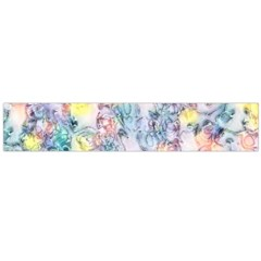Softly Floral C Flano Scarf (Large)