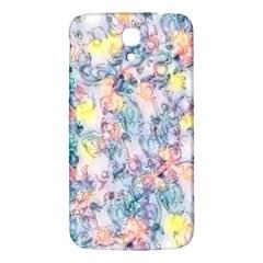 Softly Floral C Samsung Galaxy Mega I9200 Hardshell Back Case