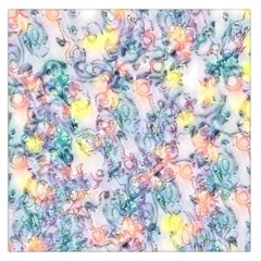 Softly Floral C Large Satin Scarf (Square)