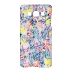Softly Floral C Samsung Galaxy A5 Hardshell Case