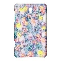 Softly Floral C Samsung Galaxy Tab S (8.4 ) Hardshell Case